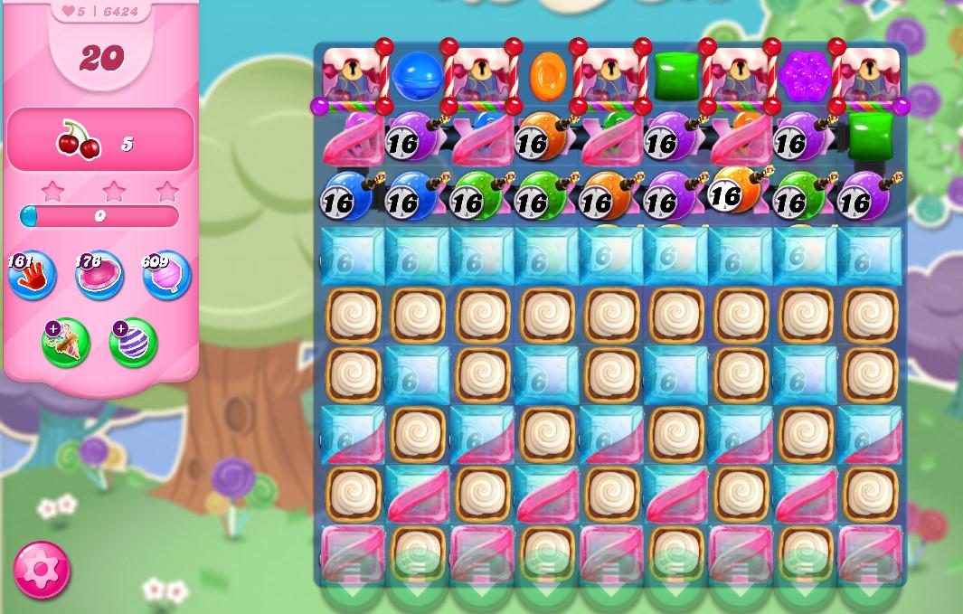 Candy Crush Saga level 6424