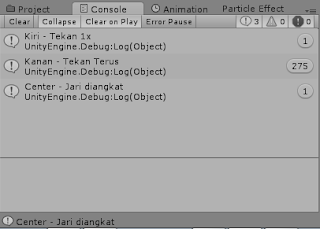 Program C# Unity : Materi 20 - GetMouseButton