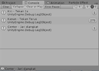 Program C# Unity : Materi 20 - GetMouseButton