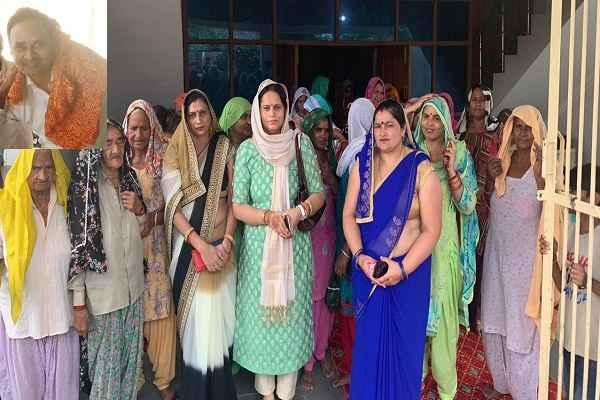 prithla-candidate-sohanpal-singh-wife-dr-asha-singh-prachar-news