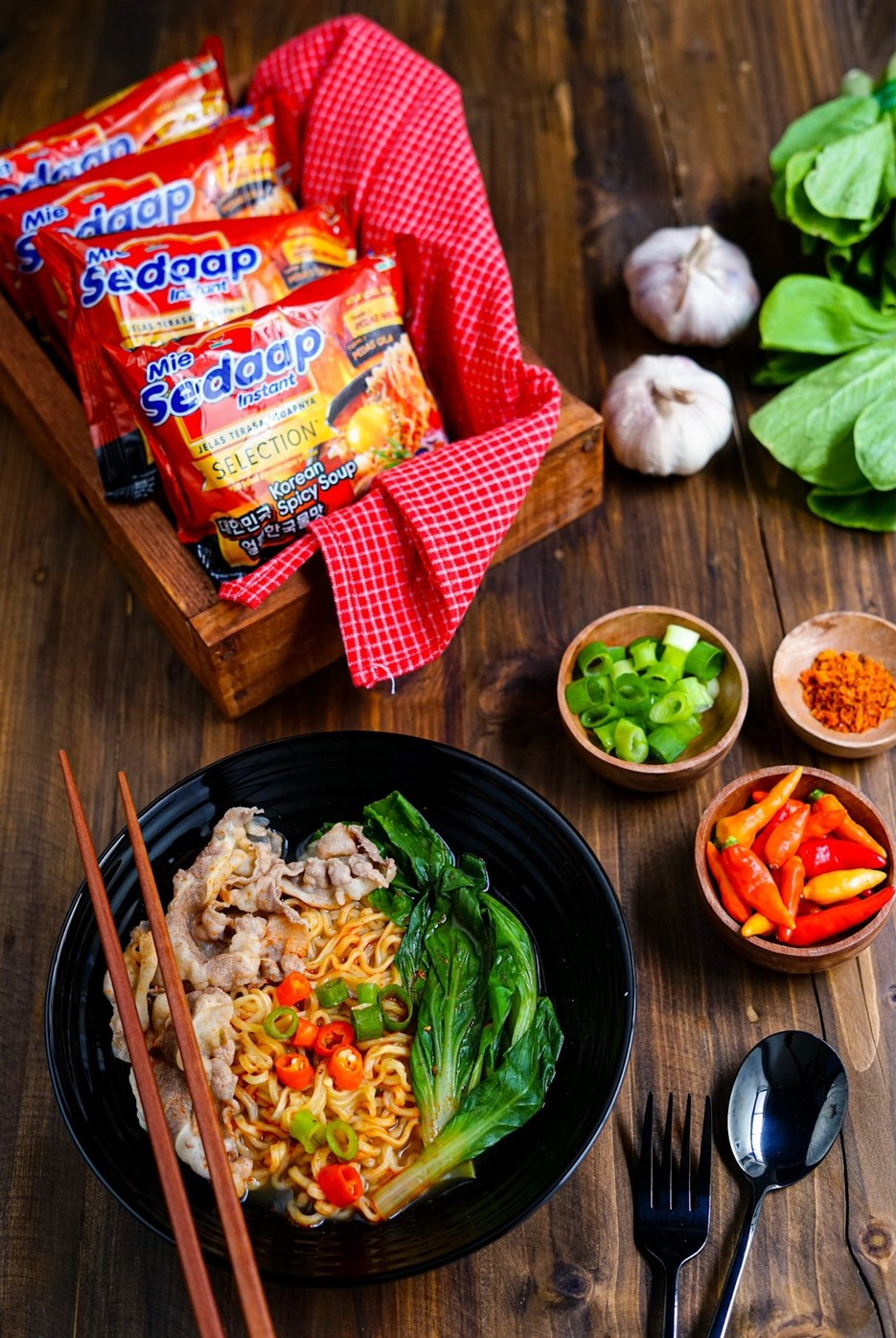 mie sedaap selection korean spicy soup