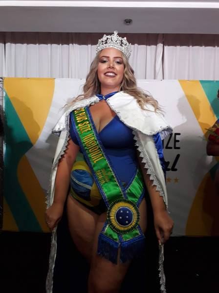 d4c0c01c0 Jornalista cearense Talita Reis é eleita Miss Plus Size Nacional