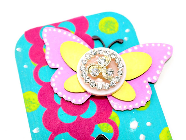 Layered Butterfly Embellishment by Dana Tatar for Tando Creative