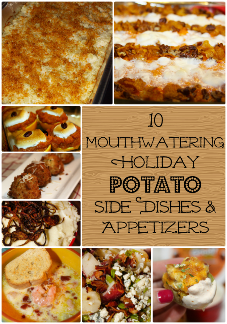 For The Love Of Food: 10 Mouthwatering Holiday Potato Side