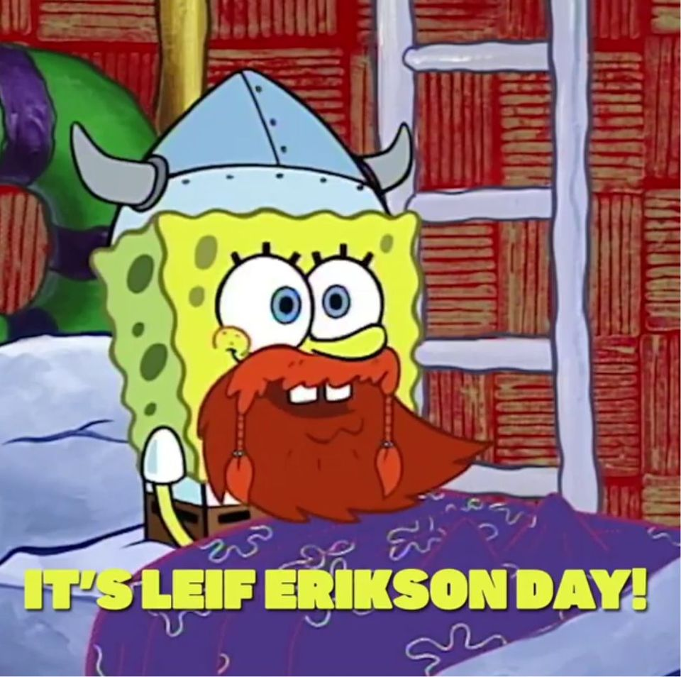 Leif Erikson Day Wishes for Whatsapp
