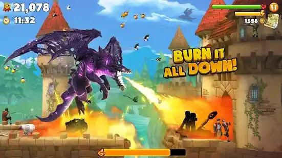 أطلق العنان للغضب الناري من الأعلى في لعبة Hungry Dragon ، وهي لعبة حركية ممتعة ومليئة بالتحركات حيث يوجد كل شيء وكل شخص في القائمة!