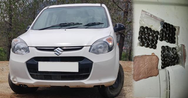 Alto कार में मिला लगभग 12 किलो चरस, NCB चंडीगढ़ की टीम ने नाकाबंदी कर पाई सफलता