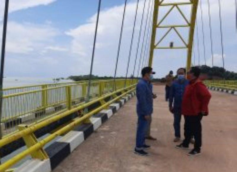 Disela Kesibukannya, Komisi III DPRD Kepri Lakukan Monev Proyek Pembangunan di Kepri
