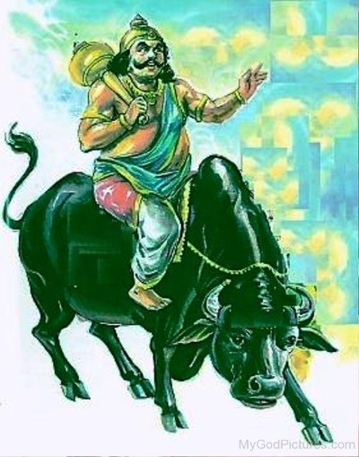 Hindu God yama pic