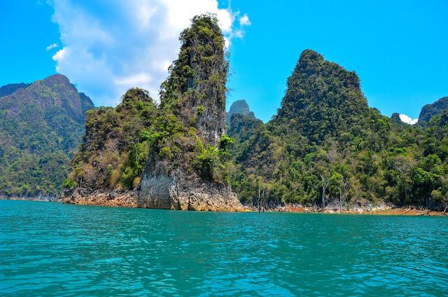 Park Narodowy Khao Sok w Tajlandii - Jezioro Cheow Lan
