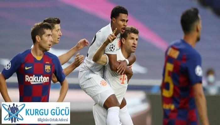 Şampiyonlar Çeyrek Final Maçında Şok Skor! Barcelona 2-8 Bayern Münih - Kurgu Gücü