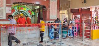 श्रद्धालुओं के लिए खोल दिया गया मैहर देवी मंदिर | #NayaSaberaNetwork