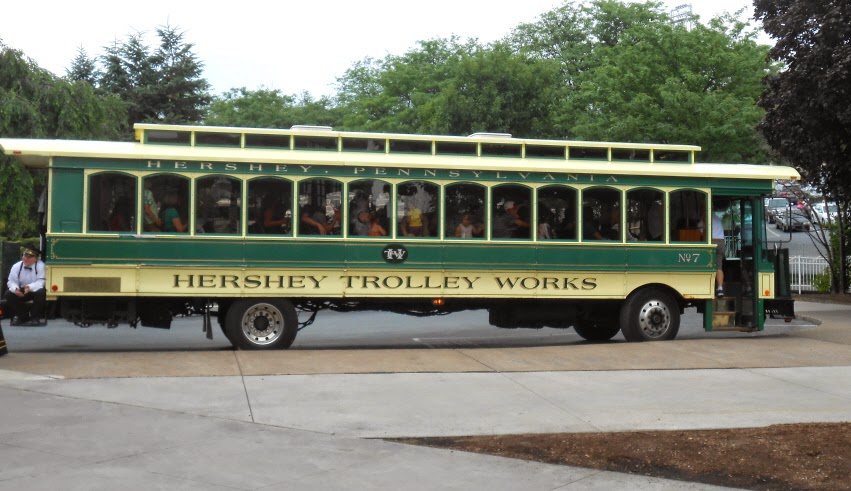 Hershey Trolley Works in Hershey Pennsylvania