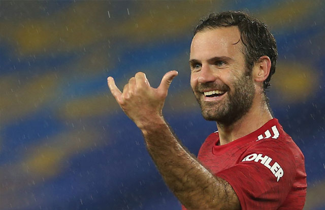 Juan Mata membantu pasukan United