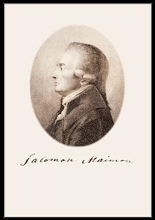 Salomon Maimon-portret van Arndt