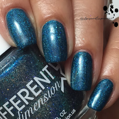 Nail polish swatch of Blue Shift by DIFFERENT dimension