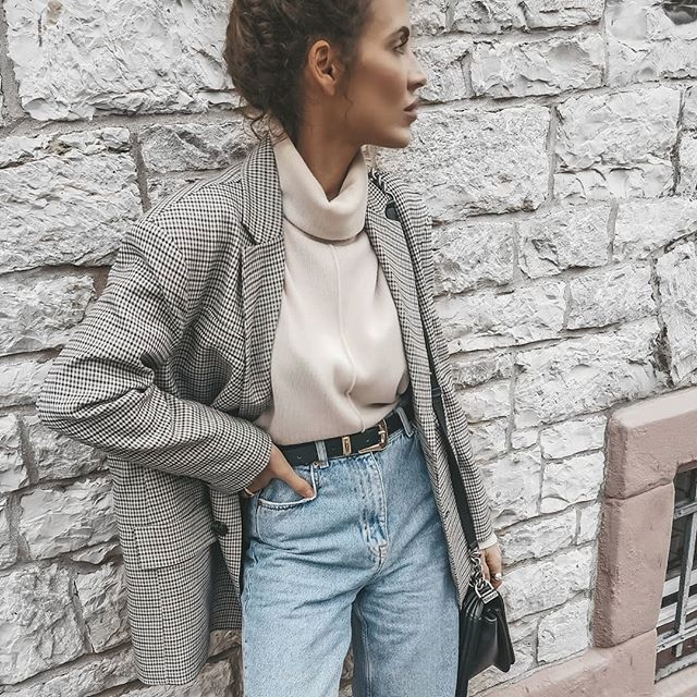 We're Wearing This Easy, Chic Instagram Outfit On Repeat
