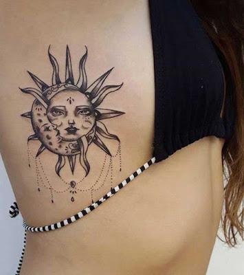 Sun Rib Tattoo
