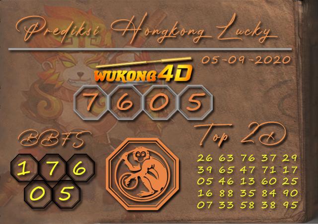 Prediksi Togel HONGKONG LUCKY 7 WUKONG4D 05 SEPTEMBER 2020