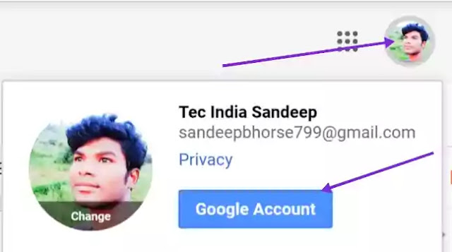 Gmail account delete kaise Kare ? 2019 Tec India Sandeep.