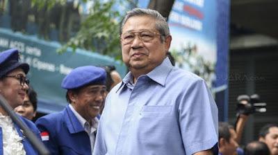 SBY Membela Diri Dituding Biayai Demo Penolakan UU Cipta Kerja