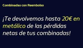 william hill Reembolso 20€ en metálico 28-2-2021