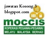 Kerja Kosong Moccis