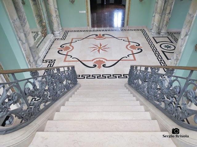 Palacete Violeta (Hall central visto da Escadaria)
