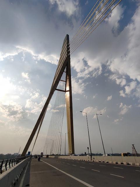 Signature Bridge - Delhi, India