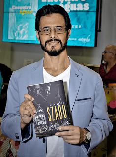 O escritor Gino Netto, foto por Gilvan Vieira