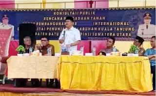 Zahir Tegaskan Pemerintah Pusat Yakin Bangun Kilang Minyak di Batu Bara