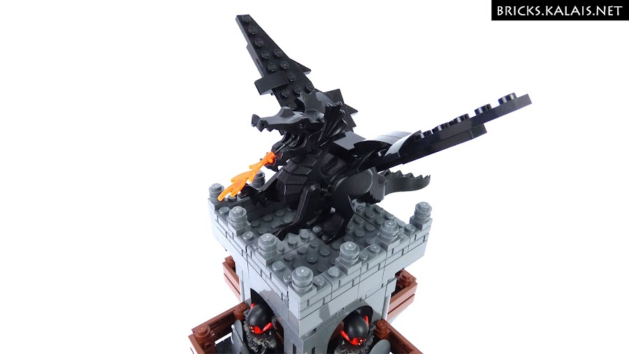 5. ...which are owned by The Black Dragon. Ah, this classic dragon from 90's :)