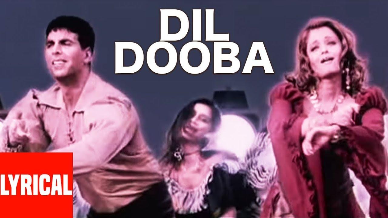 Dil Dooba Lyrics Khakee | Aishwarya X Akshay | Sonu Nigam X Shreya Ghoshal