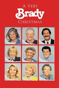 A Very Brady Christmas Poster