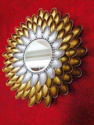 espejos-decorados-reciclaje-cucharas