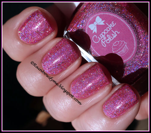 Cupcake Polish: Copa Girls (faded)
