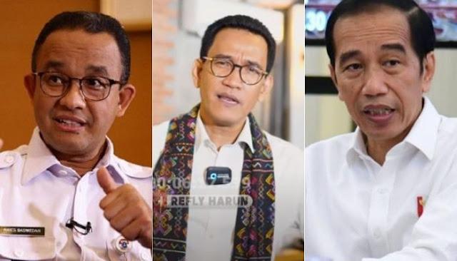 Refly Harun: Jika Anies Dipidana, Maka Presiden Jokowi Juga Bisa Kena Tindak Pidana