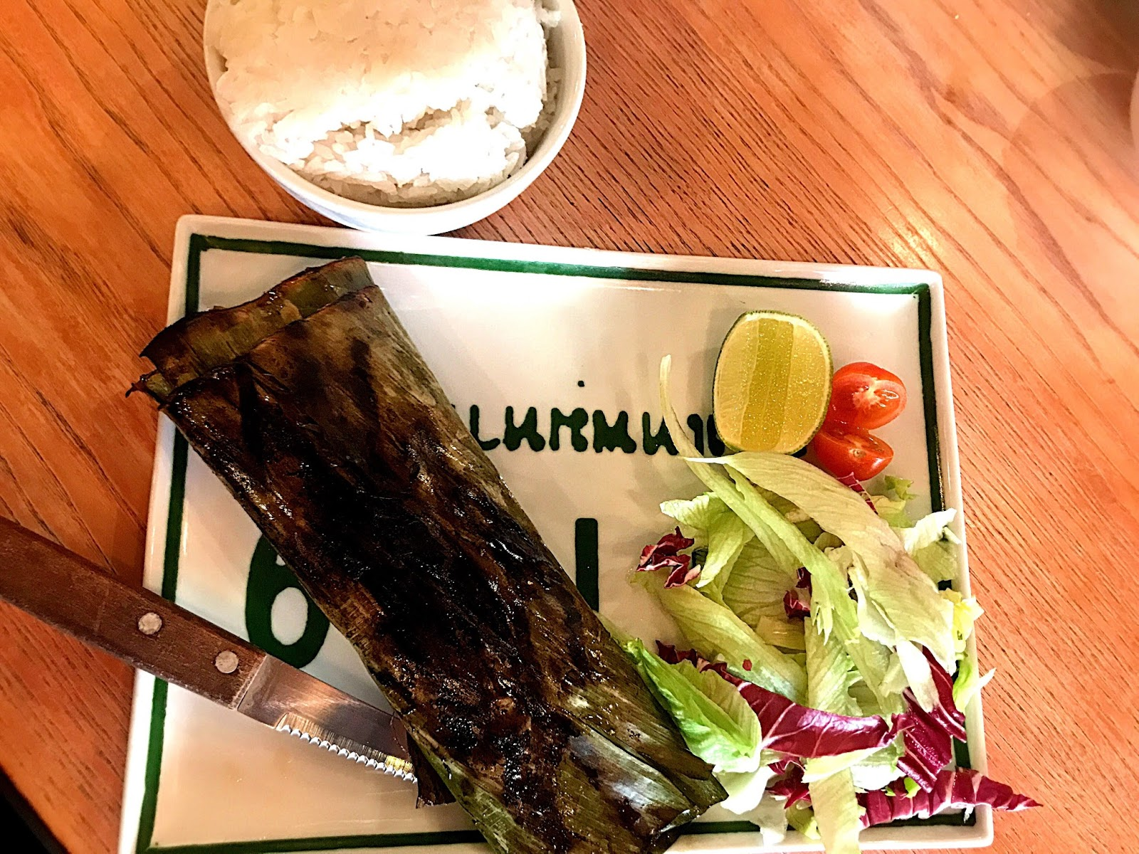 Grilled Sea Bass - Thaikhun