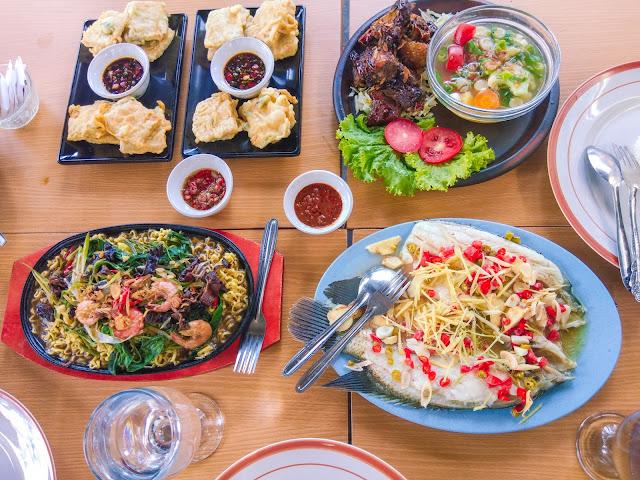 menu khas kuliner rumah jala 153 bengkulu