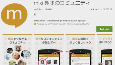 aplikasi misi sosial media yang banyak digunakan cewek jepang