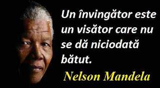 Maxima zilei: 18 iulie - Nelson Mandela