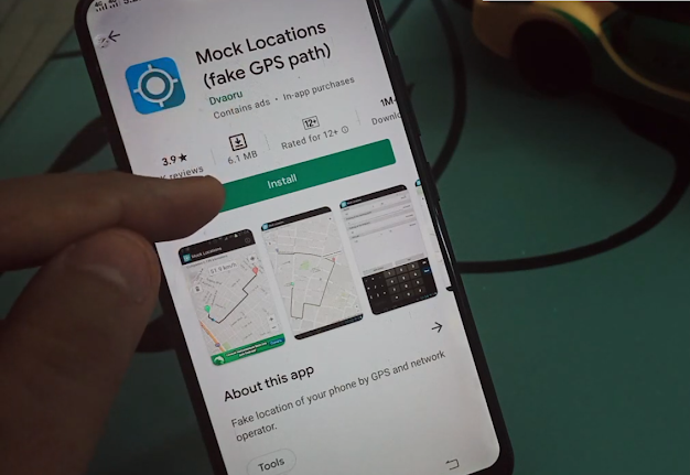 How To Change Your Live Location on Google Map Best Android Application