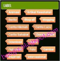 Label Cloud Keren