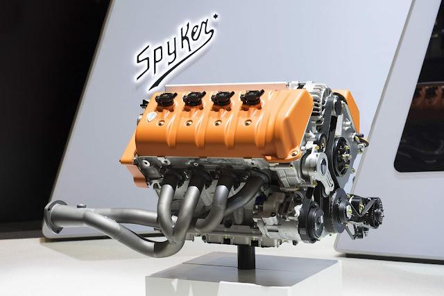 Spyker Preliator Koenigsegg V8