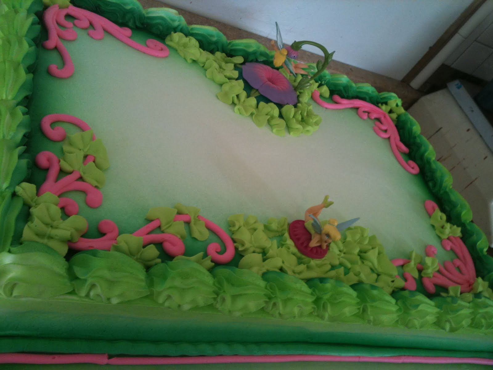 Hector S Custom Cakes Tinkerbell Cake