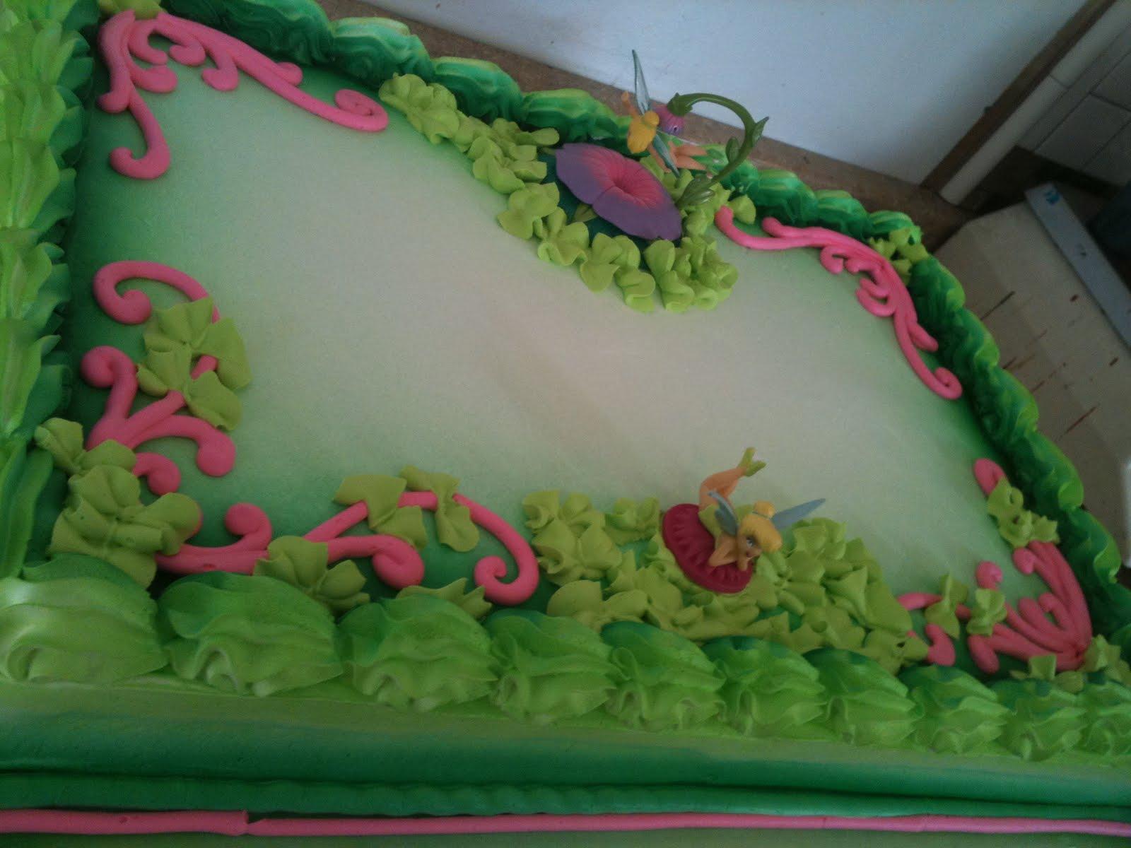 Hector S Custom Cakes Tinkerbell Cake