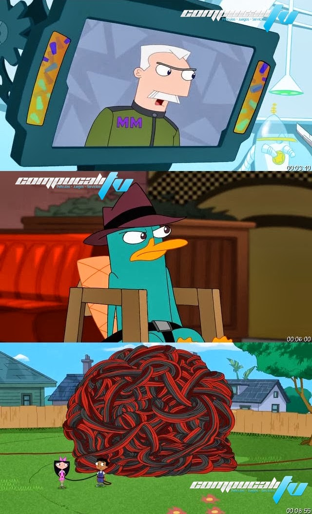 Phineas y Ferb: Mision Marvel DVDRip Latino