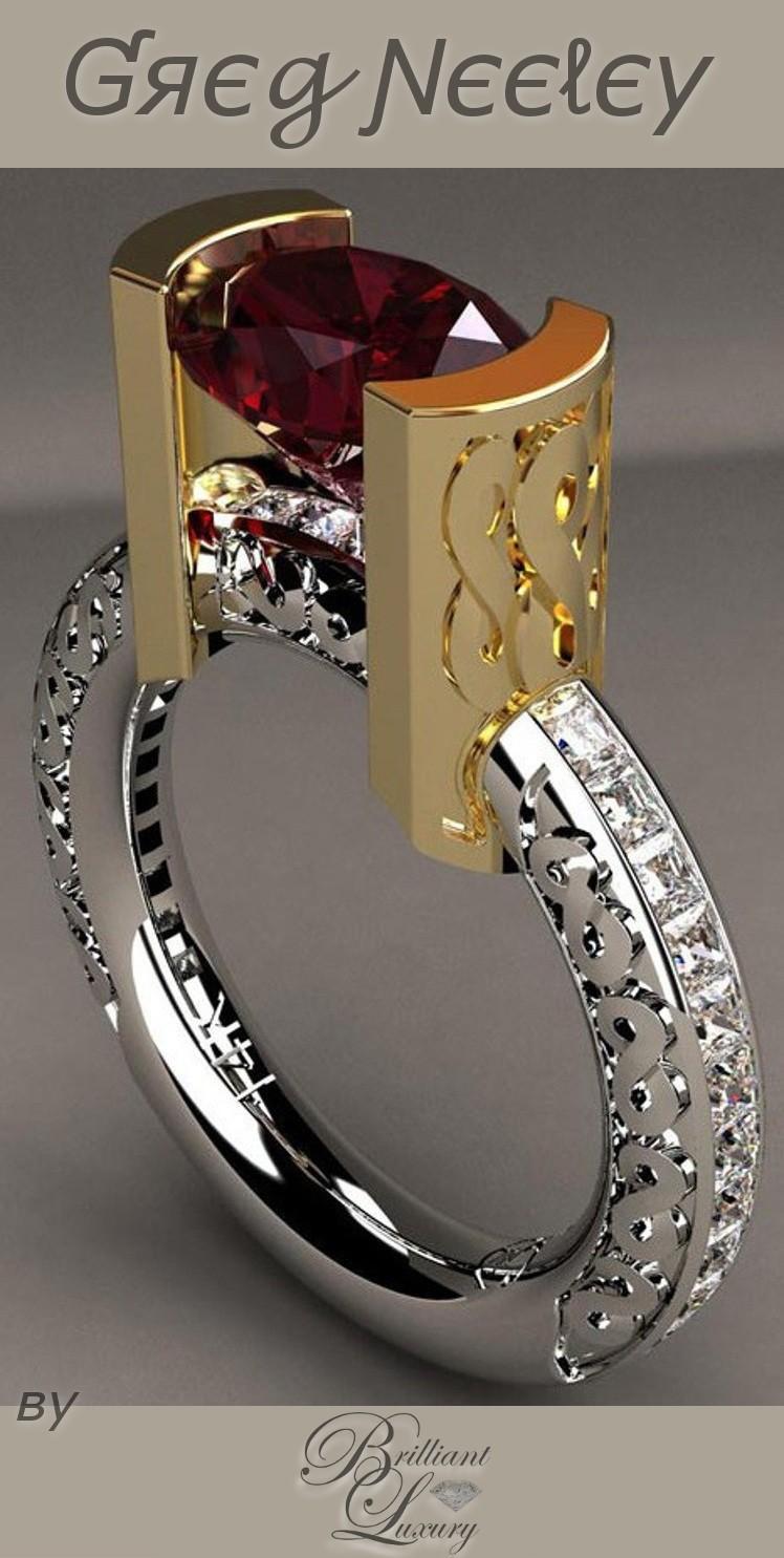 Brilliant Luxury ♦ Greg Neeley infinity ring