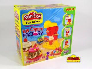 Fun-Doh Ice Cream Factory, fun doh indonesia, fun doh surabaya, distributor fun doh surabaya, grosir fun doh surabaya, jual fun doh lengkap, mainan anak edukatif, mainan lilin fun doh