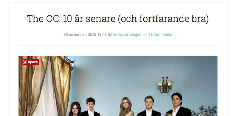 http://www.seriedrottningen.se/the-oc-10-ar-senare-och-fortfarande-bra/